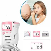 VOLMAN Pocket Prenatal Baby Heart Beat 4.5 Display Fetal Doppler Monitor