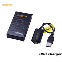 Original Aspire USB charger for Aspire CF battery aspire G power battery Electronic Cigarette usb charger