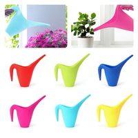 OOTDTY 1L Plastic Durable Watering Can Long Spout Flower