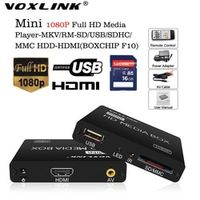 VOXLINK Multimedia Mini Full HD 1080P HDD Media Player TV box Support HDMI MKV RM SD