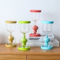 style long grass Yan Tuanzi fun hourglass home glass