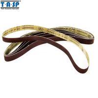 TASP Sanding Belt 25x762mm 5PC Grinding Belt for Woodworking