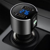 SHIDWJ Handsfree Auto USB Charger FM Transmitter Radio Wireless MP3 Player