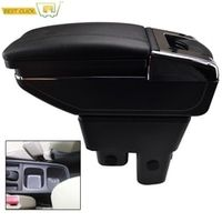 Arm Rest Rotatable For Honda Fit Jazz 2009-2013 GE Center Centre Console Storage Box