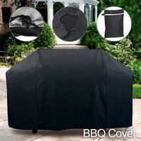 OUSSIRRO Black Waterproof BBQ Accessories Cover Anti Dust