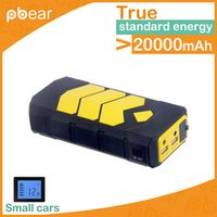 22880mAH Car Jump Starter with 2 USB ports Battery Charging Unit Power Drive for car