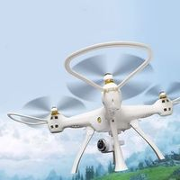 OCDAY W8 2.4G Drone with 1080P Camera 4CH Long Distance RC Quadrocopter Built-in GPS