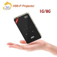 H96-P 1G 8G S905 Mini Portable pocket DLP Projector Android proyector system