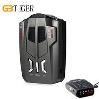 GBtiger V9 Car 360 Degrees LED Display Russia / English Voice Alert Warning Anti