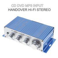 KENTIGER CD / DVD / MP3 Input Hi-Fi Car Stereo Audio Amplifier RMS 20W + 10W