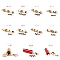 Ohhunt Hunting Red Laser Boresighter CAL.308 .45 .38 .30 CAL 7mm 8mm 9mm CAL.303 12GA