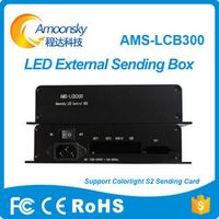 Amoonsky AMS-LCB300 colorlight s2 external sending card box for outdoor rental led