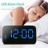 Famirosa Alarm Clock Large LED Display Snooze Digital