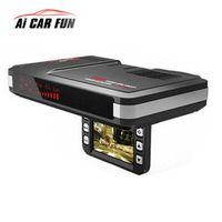 Ai CAR FUN 2 in 1 car Motion Universal dash cam Anti radar detector DVR camera flow