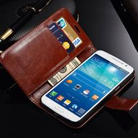 Tomkas PU Leather 2 G7106 G7102 5.25 inch Luxury Wallet Cases For Samsung Galaxy