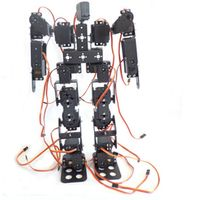 17DOF Biped Robotic Educational Robot Humanoid Robot Kit with Remote Controller