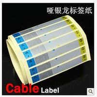 Free shipping Cable Sticker / Cable Marking Label - Waterproof Label Sticker (30pcs/sheet, total 10 sheets)