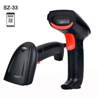 wholesale Wired Handheld USB Scanner QR Code Barcode Reader 2D bar Code scanner For Mobile Payment Computer Screen SZ-33
