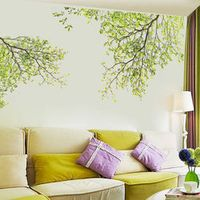 60x90cm Family Big Wall Sticker For Living Room Wall Decals