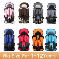 GSPSCN 2017 9-30kg Toddler Thickening Sponge Baby Kids Children Car Seat Belts Safety