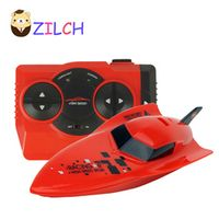 ZILCH 2017 Torpedo Boat Remote Control Speedboat Rower charging simulation electric Rowing summer play water children toy