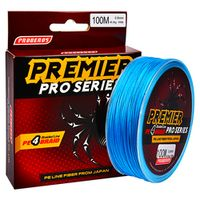 100M PRO BEROS Multicolor/Red/Green/Grey/Yellow/Blue 4 Weaves Braided Fishing Line