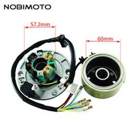 Off-Road Motorcycle Accessories High Speed Motor Kits Stator Rotor Magneto Coil For ZongShen 150CC Oil-cooled Engine CQ-101