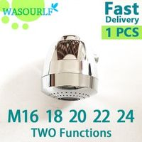 WASOURLF aerator tap adapter kitchen faucet shower chrome plated M22*1 22mm female