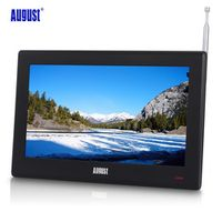 August DA100D 10 inch Portable HD Freeview TV Mini Digital LCD Television with DVB-T