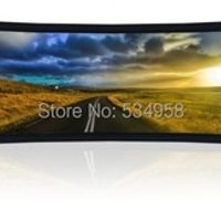 SMAXSCREEN Projector Screen/Curved 110 inch /Curved for Cinema/Large Curved Frame