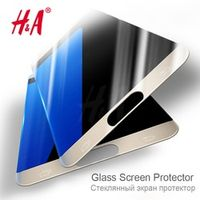 H&A  0.26mm Anti-Explosion Tempered Glass For Samsung Galaxy S7 Screen Protector For Samsung Galaxy A5 A510F 2016 Glass Film