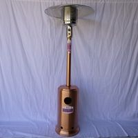 Copper color CA CSA certificated outdoor gas patio heater