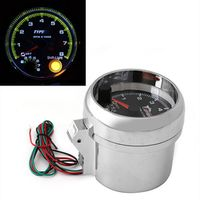 peacefair 1PC Universal Car Tachometer Gauge With Shift Light 0-8000 RPM 12V 3.75""