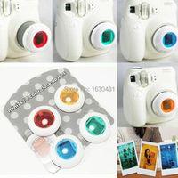 Colorful 4 Colors Filter Close Up Lens Filter  Mirror For Fujifilm Fuji Instax Instant Mini 8 7S Film Photo Camera