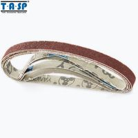 TASP Sanding Belt 10x330mm 50PC Grinding Belt for Woodworking Sandpaper