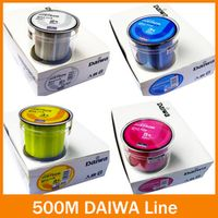 soloplay Nylon fishing lineTransparent/ Yellow/ Red/ Blue 500m super High Strong