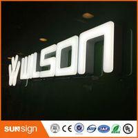 shsuosai LED acrylic signage letras decorativas luminosas