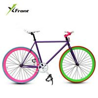 X-Front Fixed gear 46cm 52cm DIY single speed road bike track bicycle fixie