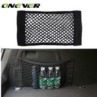 Onever Car Trunk Box Storage Bag Mesh Net 50cm*25CM Car Styling Luggage Holder Pocket