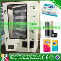 condom vending machine with coin acceptor and bill acceptor