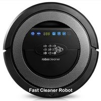 (Free Shipping to Russia) Newest 6 in1 Robot Vacuum Cleaner With 6 drop sensors to keep unit from falling off,Sonic Wall