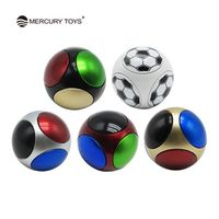 MERCURYTOYS Hand Ball Round Gyro Finger Anti Stress