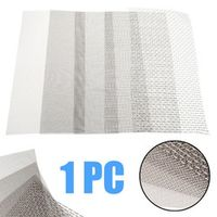 Mayitr 5/8/20/30/40 Mesh Stainless Steel Screen Wire Filter Sheet Woven Cloth 15x30cm