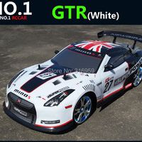 Large 1:10 RC Car High Speed 2.4G GTR 4 Wheel Racing Car