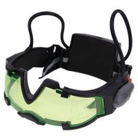 Adjustable Elastic Band Night Vision Goggles Glass Children Protection Glasses Green