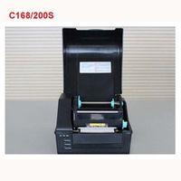 C168 / 200S bar code machine dumb silver paper jewelry tag surface single stickers printer label machine 100-240V 108*4000mm