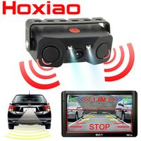 HoXiao Car rear view camera Night vision LED light High definition Rearview Vehicle