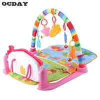 OCDAY 3 in 1 Baby Play Rug Develop Crawling Children's