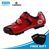 SIDEBIKE Professional Lightweight Mountain Bike Shoes Sapatilha Ciclismo Mtb For Men