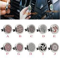 ISHOWTIENDA Car Styling Accessories Stainless Auto Vent Car Air Freshener